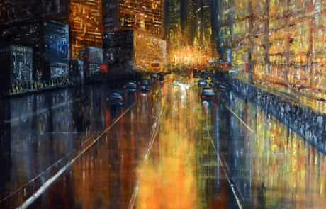 New York abstract painting