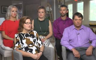 The DeMoe family on the Today Show