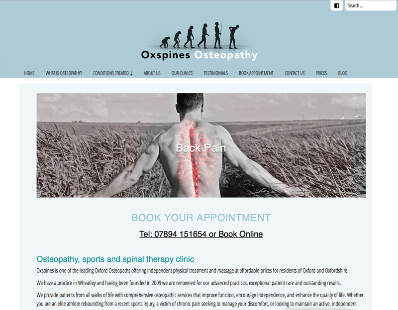 Oxspines Osteopathy