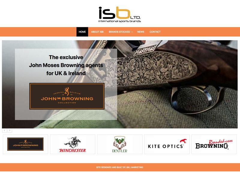 IS Brands website