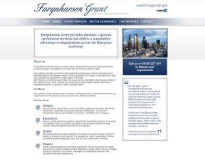 old tired website for farquharson grant