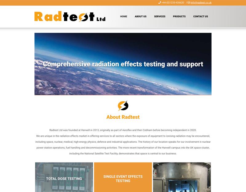 Radtest New Website