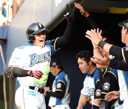 【プロ野球】日本ハム・清宮が2戦ぶり特大3号、阿部にリベンジ イースタン・ロッテ戦