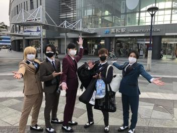 A.B.C-Zやり遂げた 5人だけで東京発ち、撮影し合いながら香川入り