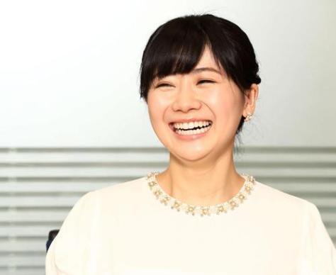 笑顔を見せる卓球リーグ「Tリーグ」理事の福原愛(2018年8月2日撮影)