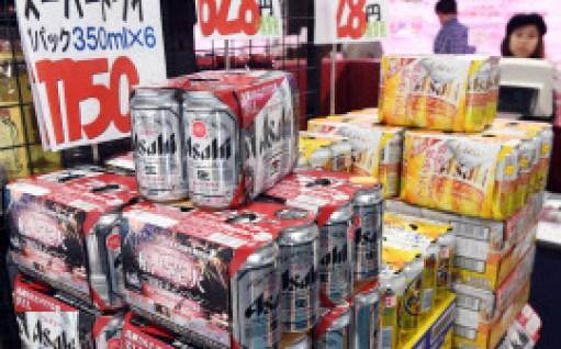 アサヒビールは業務用を中心としてビール系飲料を値上げする