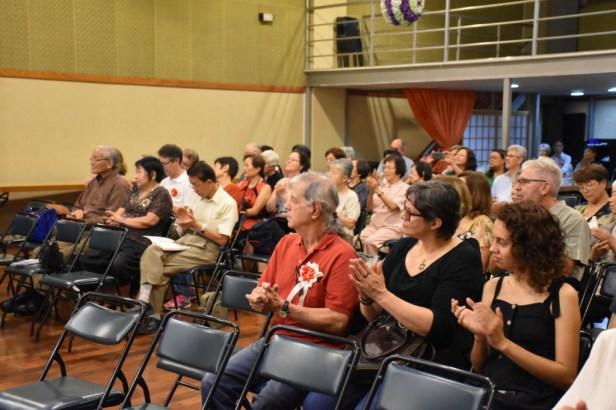 会場には多くのブラジル人も出席