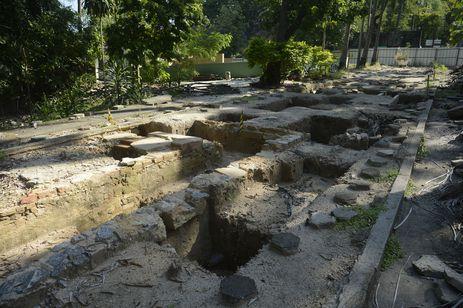 動物園内の発掘現場の一つ(Tomaz Silva/Agência Brasil)