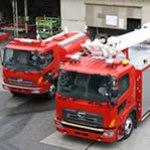 省力型消防車システム