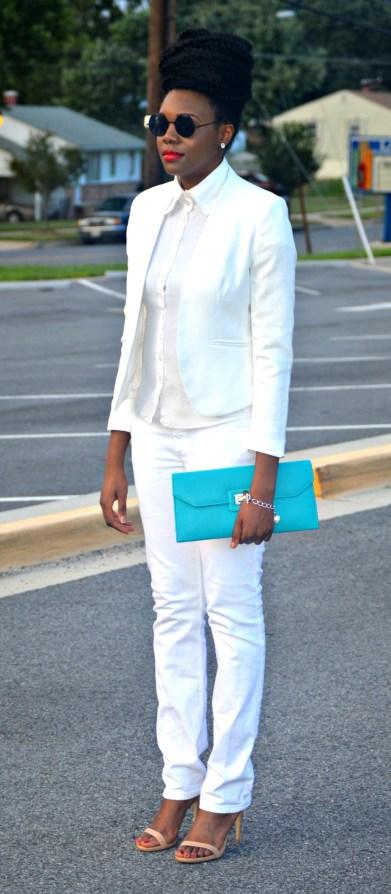 Nikki Billie Jean All White Suit 2