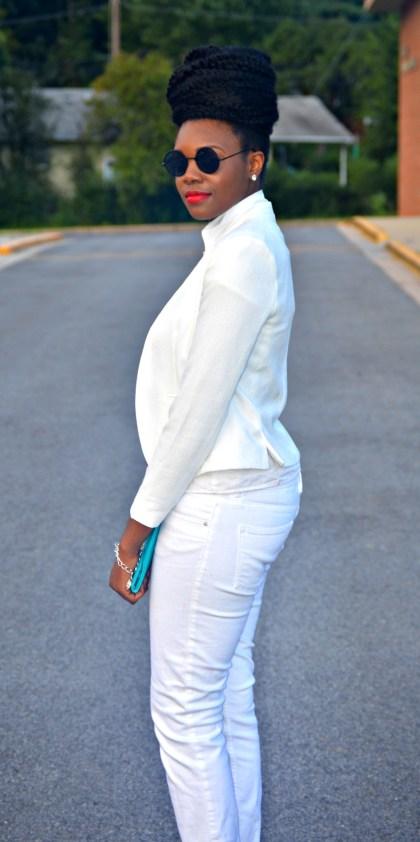 Nikki Billie Jean All White Suit 3