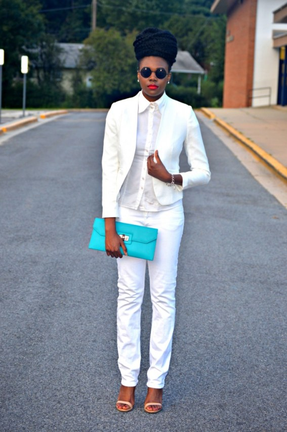 Nikki Billie Jean All White Suit 4