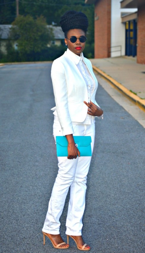 Nikki Billie Jean All White Suit 5