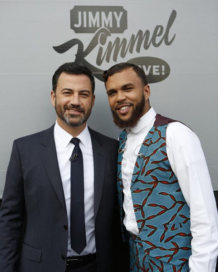 Jidenna Performs on Jimmy Kimmel Live in Nikki Billie Jean 3