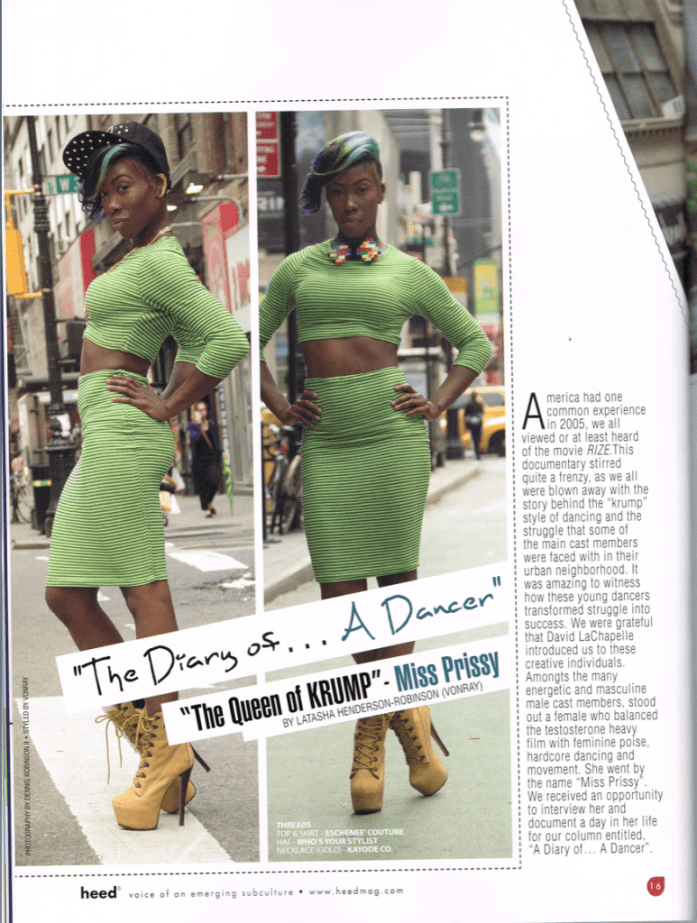 Miss Prissy for Heed Magazine October 2013 2