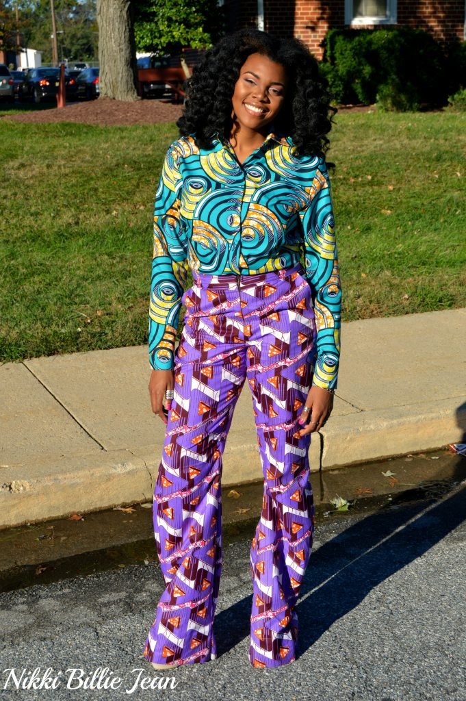 25th-birthday-nikki-billie-jean-purple-ankara-print-blazer-high-waisted-wide-legged-pants-suit-blue-ankara-print-longsleeve-button-up-shirt-9