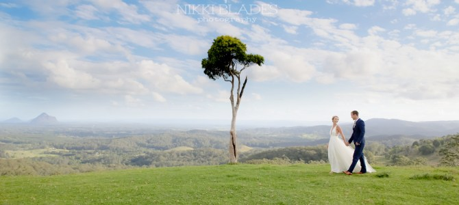 MALENY MONTVILLE HINTERLAND WEDDING PHOTOGRAPHY {Kacey + Callum – FLASHBACK FAVE}