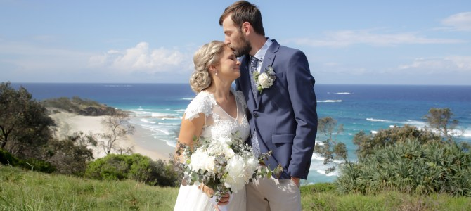 Featured Wedding – Katherine + Jonathan – South Gorge & Point Lookout, North Stradbroke Island