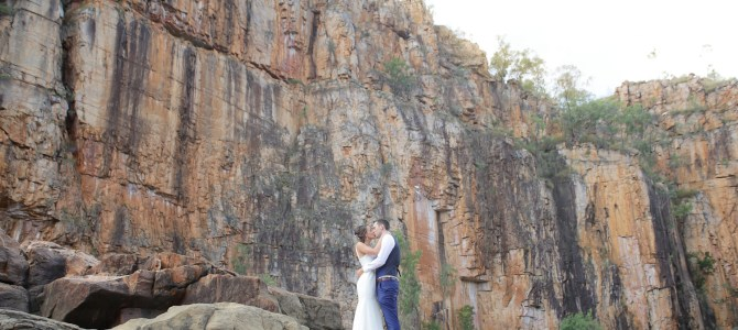 Featured Wedding – Rebekah + Tom – Nitmiluk Gorge, Katherine NT