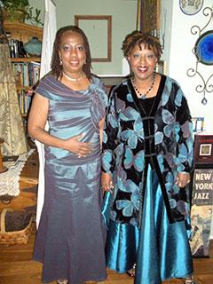 Debra and Nikki