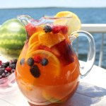 Jungle Juice Sangria Recipe || Perfect summer wine drink/cocktail loaded with fruit, juice and pop! || Nikki's Plate