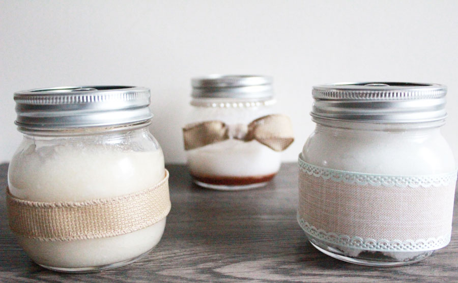 DIY Natural Beauty Products - 3 great recipes for a Body Sugar Scrub, Fresh Face Mask and Hair Mask. If you love coconut oil you'll love these!