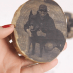 DIY Pictures on Wood Coasters