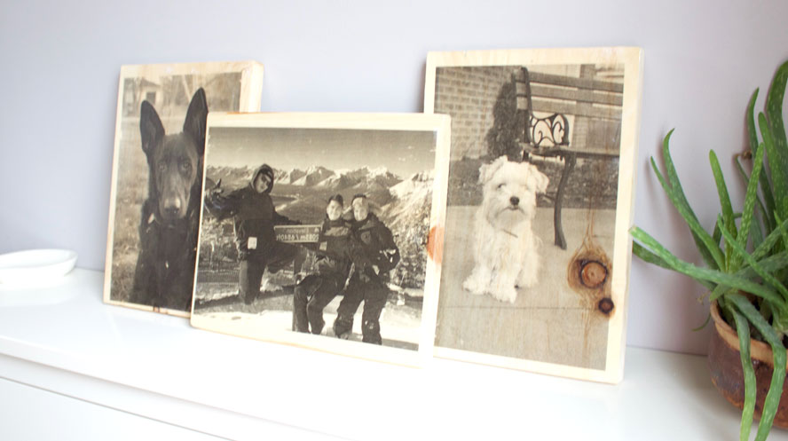How To Transfer Photos to Wood Plaques