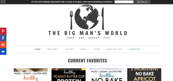 The Big Man's World Blog