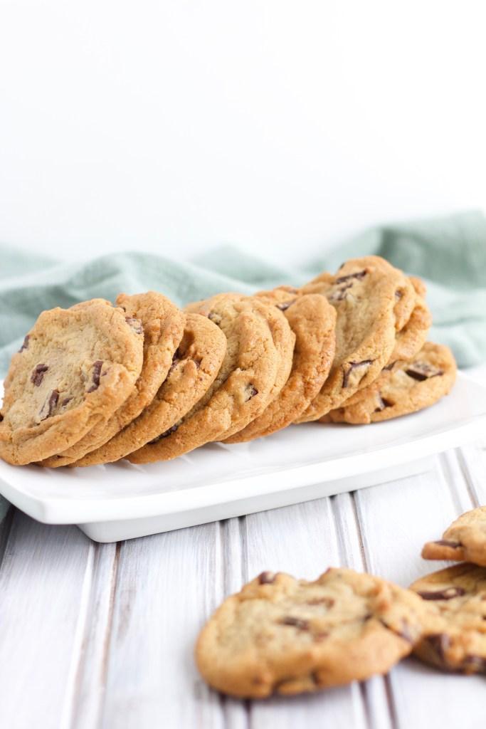 Best Vegan and Gluten Free Chocolate Chip Cookies - Nikki's Plate