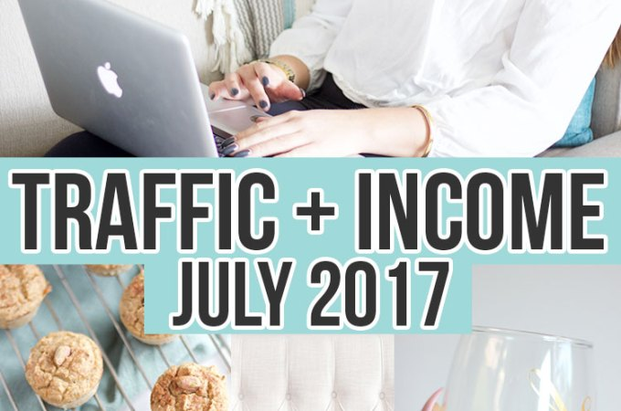July Traffic and Income report