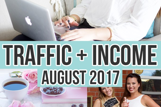 August 2017 Monthly Income and Traffic Reports