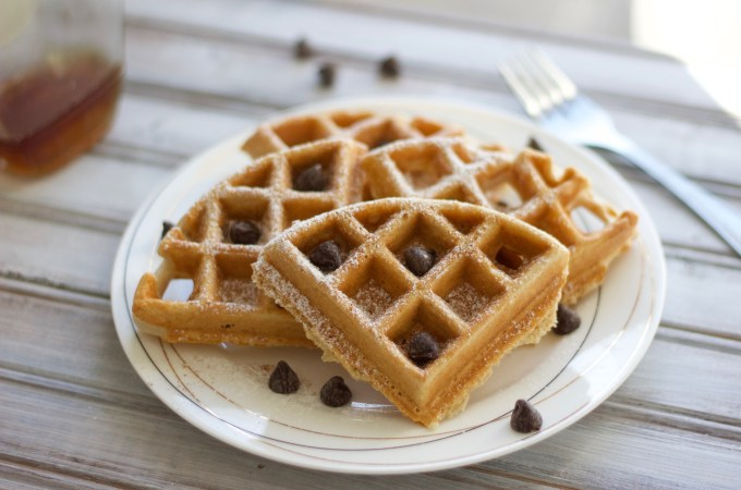 Easy Gluten and Dairy Free Belgian Waffles: Delicious, easy and healthy breakfast! | Nikki's Plate