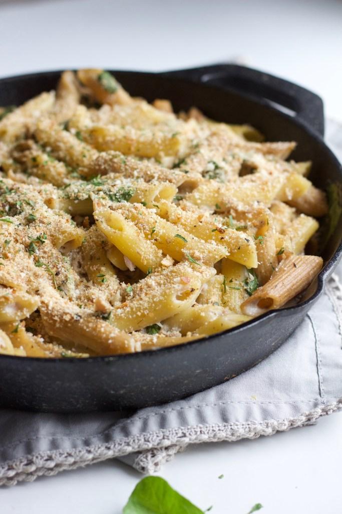 Healthy Dairy Free Tuna Casserole || Quick and Easy Gluten Free Dinner || Nikki's Plate