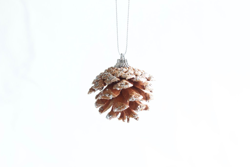 Best DIY Glittered Pinecones    Easy Christmas decor craft thats easy and looks great! Everyone will love!    Nikki's Plate