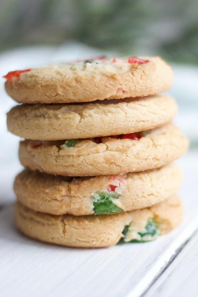 4 Ingredient Gluten Free Shortbread Cookies