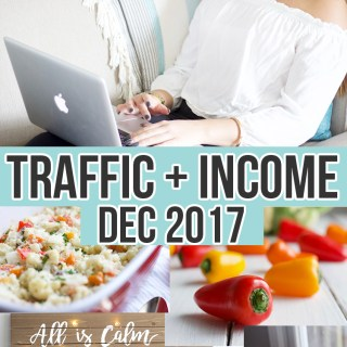 December 2017 income Traffic report