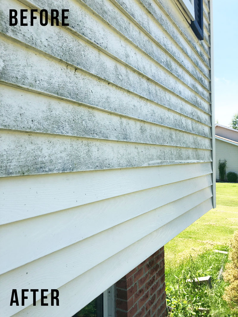 how to clean vinyl siding home exterior cleaning nikki s plate