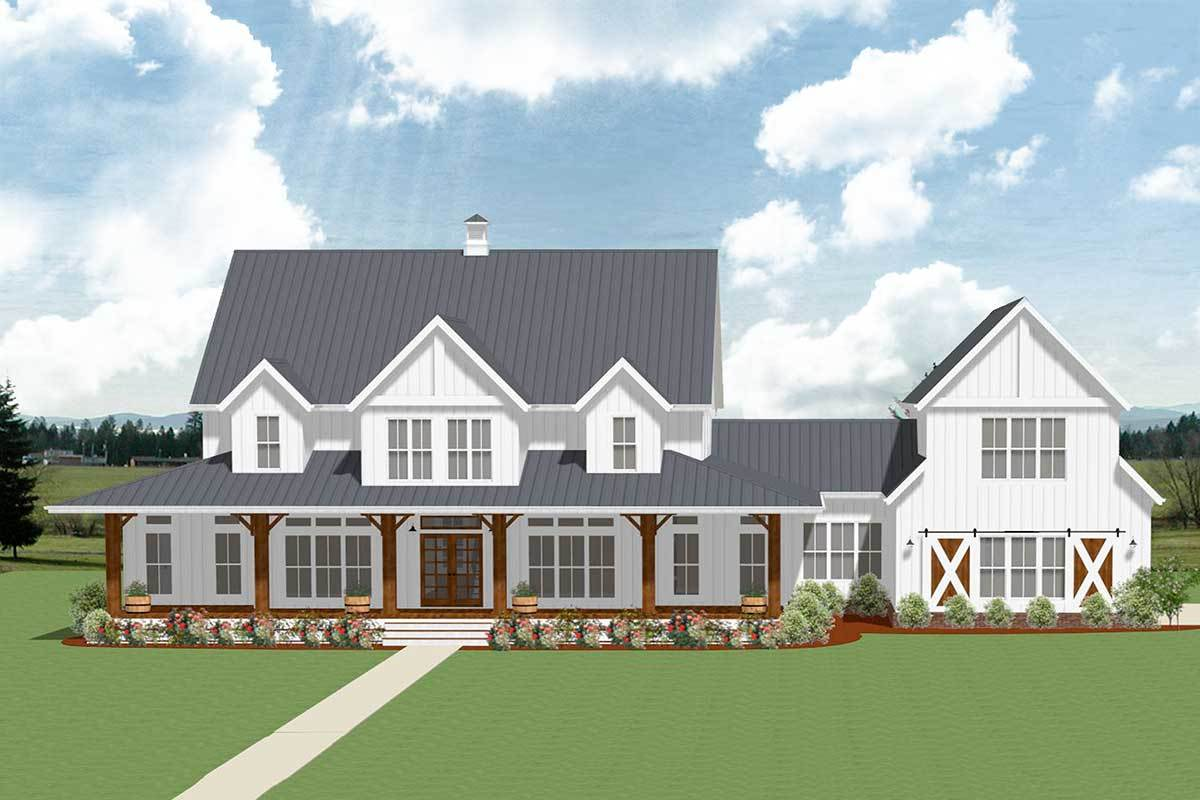 . 7 Most Popular Farmhouse Plans With Pictures   Nikki s Plate