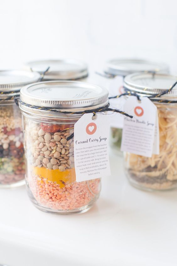 Soup mix is the perfect mason jar gift because you can make just about any combination of soup mix recipes!