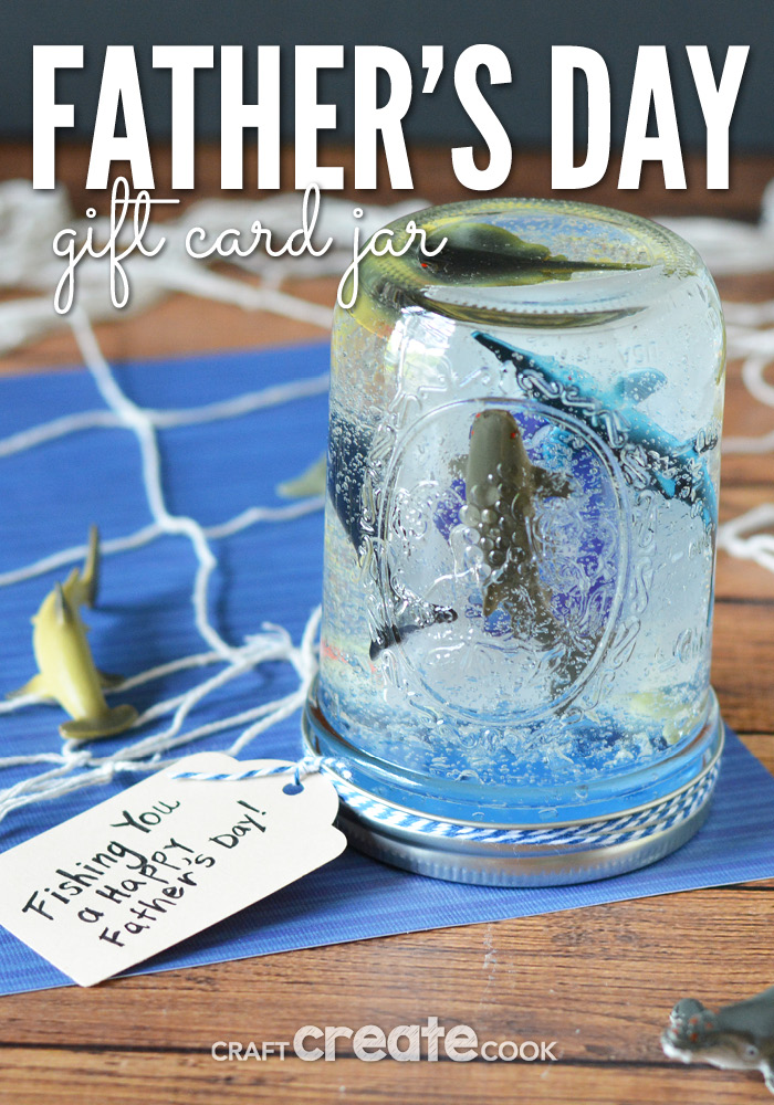 This mason jar gift is the perfect father's day scene and it's filled with hair gel!