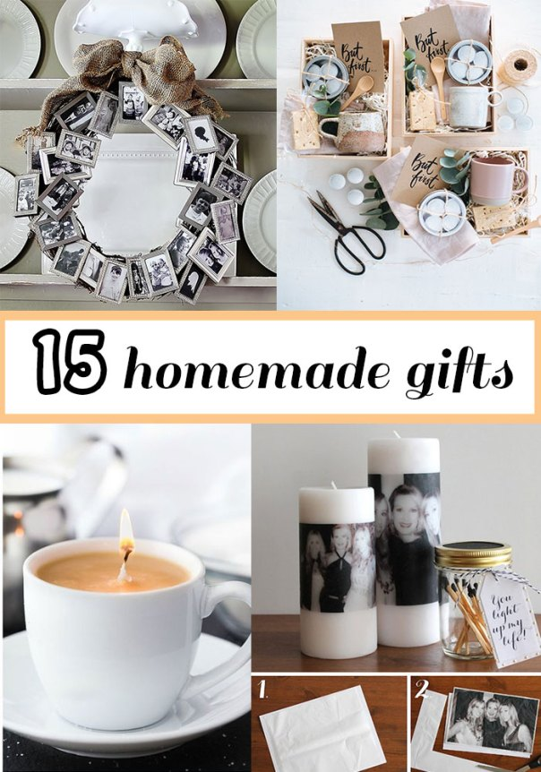 Homemade gift ideas that everyone will love this Christmas, especially your bank account! Easy DIY presents that can be personalized for the person who has it all! #DIYgifts #DIYpresents #homemadegifts | Nikkis Plate