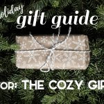 The Cozy Girl Holiday Gift Guide