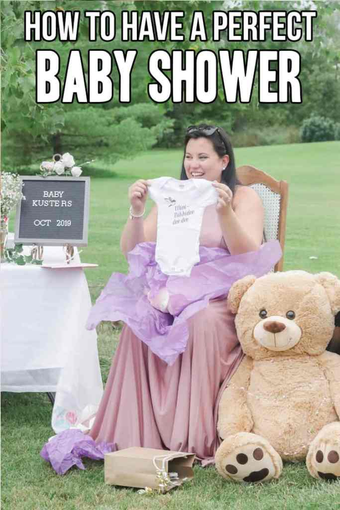 How to have a perfect pretty in pink baby shower!