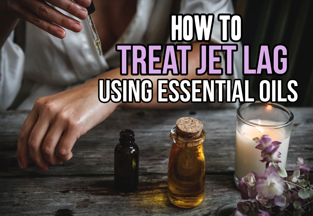 Treating Jet Lag with Essential Oils; jet lag relief using essential oils, tips and tricks to avoid jet lag and have a better travel experience! #jetlag #treatjetlag #essentialoils #travel || Nikki's Plate