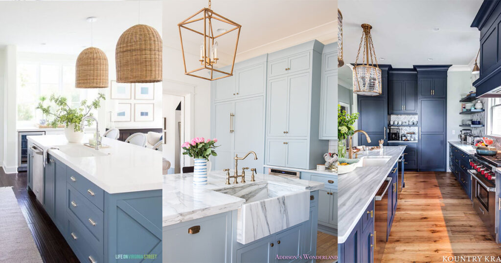 9 Pretty Blue Kitchen Design Ideas Nikki S Plate