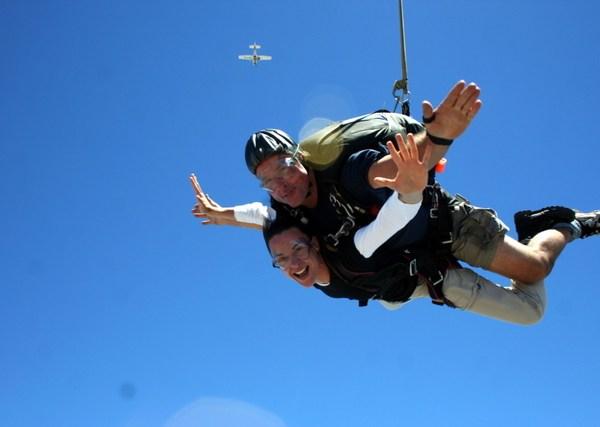 Tandemsprung Kapstadt