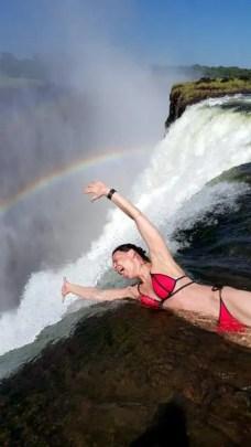 Nikki crazy devils Pool Vicfalls