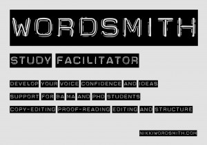 Study coach, wordsmith, nikki smith, manchester