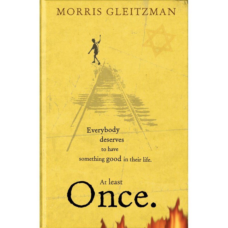 Book recommendation for April, Once, by Morris Gleitzman - Nikki Young